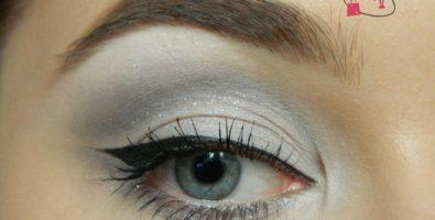 Урок макияжа глаз в серых тонах