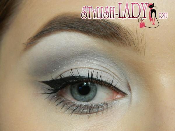 макияж глаз со стрелками, фото