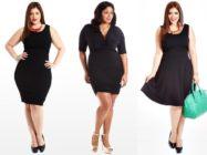 Маленькое черное платье – для всех и каждой! Модели и фасоны для полных