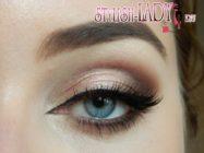 Шикарный коричневый макияж глаз — 3 варианта выполнения