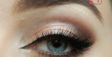 Выразительный макияж в теплых коричневых тонах — пошаговый урок
