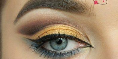 Урок восточного макияж глаз