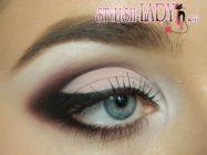 Красивый макияж глаз для любого повода под розовое платье