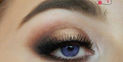Как сделать макияж смоки в коричневых тонах — подробный урок с фото