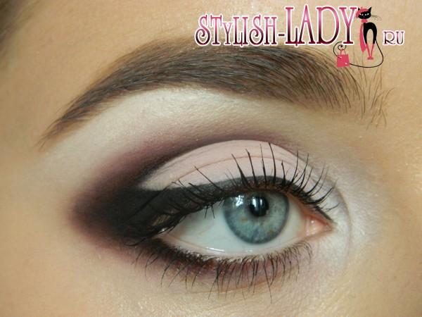 макияж под розовое платье, фото