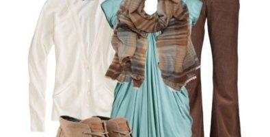 Любимая часть гардероба… С чем носить коричневые джинсы?