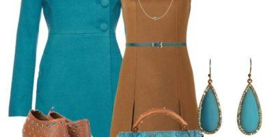 Модное коричневое платье: с чем его носить? Подбираем обувь и аксессуары