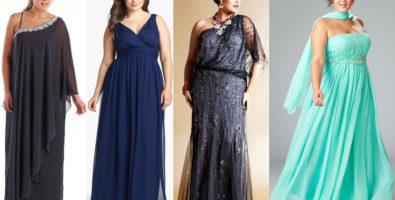 Идеальное вечернее платье для полных дам