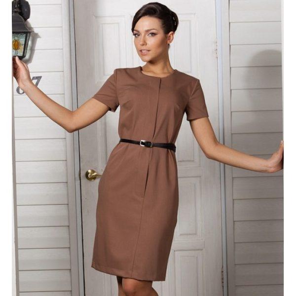 Аксессуары к коричневым платьями