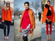 Оранжевая радость! С чем носить оранжевые куртку или пальто?
