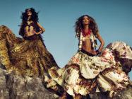 Яркий цыганский стиль одежды