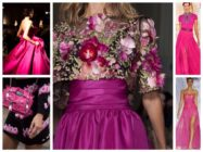 Цвет фуксии в одежде: сочетание с другими цветами