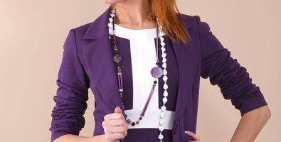 Стильный фиолетовый. С чем носить фиолетовый пиджак, кофту, рубашку?