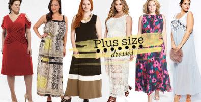 Нарядные платья для полных. Удачные модели и фасоны