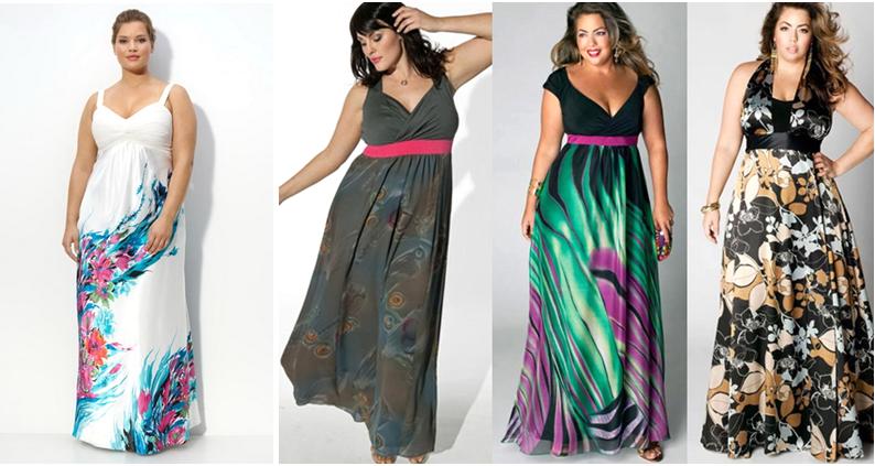 Фото платьев на лето для полных 119