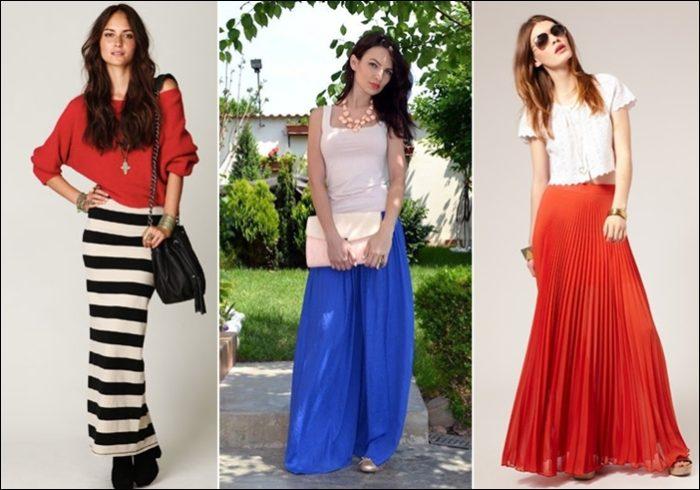 Летние юбки модные фасоны