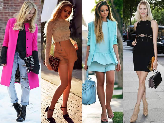 Какой цвет платья подходит блондинкам