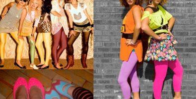 Одежда и прически в стиле 90-х годов