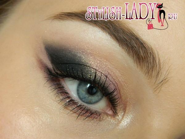 Нежный макияж для серых глаз, фото