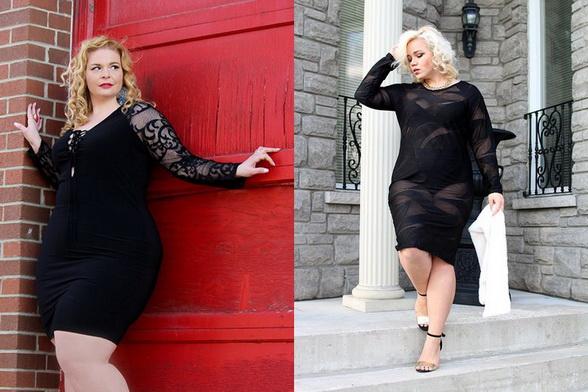 Модные вечерние платья для полных женщин 2017 - 36 фото 1ee2e4401ec