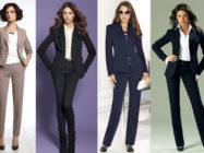 Модная классика. Классические женские костюмы