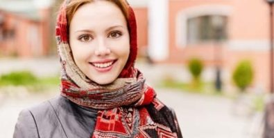 Как завязать шарф на голове? Идеи с фото