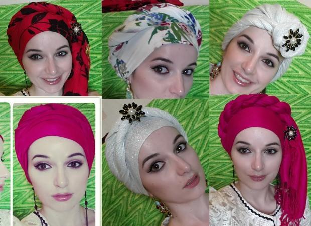 Как правильно завязать шарф на голове