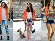 Оранж – тренд 2017! С чем носить оранжевый кардиган, кофту, свитер, водолазку, жакет?