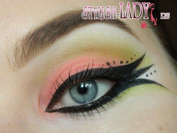 глаза рыбки макияж, фото
