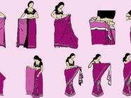 Как правильно одевать сари: поэтапное руководство + видео