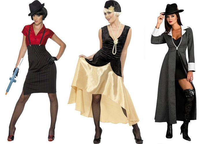 Гангстеры стиль одежды девушки
