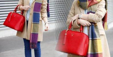 Шарф как элемент украшения любой одежды