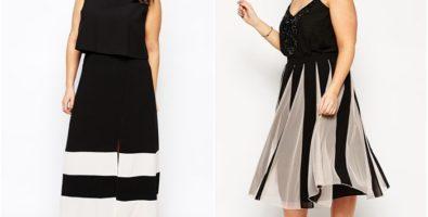Самые эффектные и стильные юбки для полных