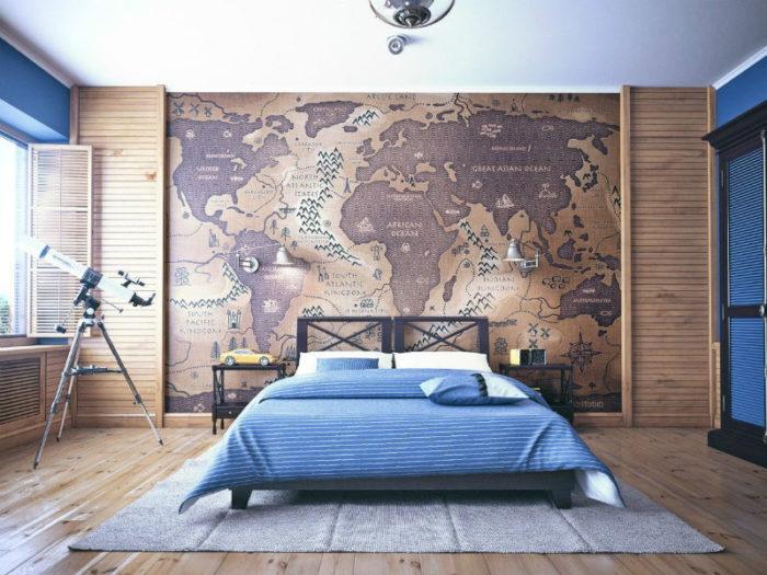 спальня, фото