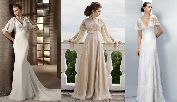 греческие свадебные платья, фото