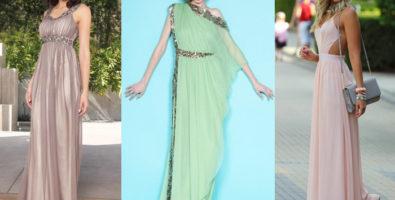 Что за прелесть это платье в греческом стиле!