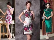 Платья в китайском стиле: разнообразие расцветок и моделей