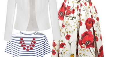 Юбка с цветочным принтом: мечта модницы
