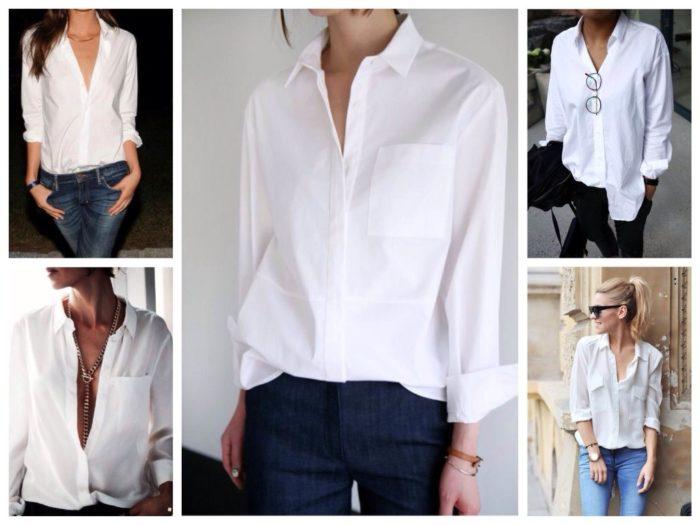 блузки в базовом гардеробе