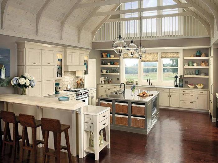 американский дизайн кухни
