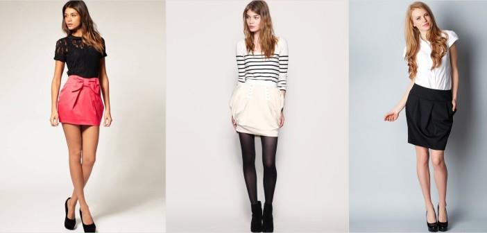 Модель юбка тюльпан