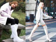 Нарядим наши ножки в белые сапожки! С чем носить белые сапоги?