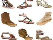 Сандалии в гардеробе современной женщины. С чем их носить?