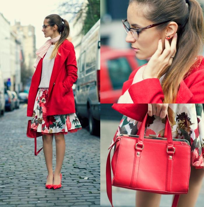 81a1691cf87a В конце весны и начале осени, когда погода теплая и верхняя одежда не  нужна, красная сумка крупных размеров будет хорошо сочетаться с мягкими  трикотажными ...