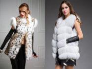 Меховой жакет и жилет — чудо для модниц