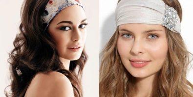 Модные повязки на голову: как носить?