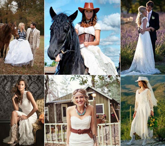 свадьба в стиле кантри, фото