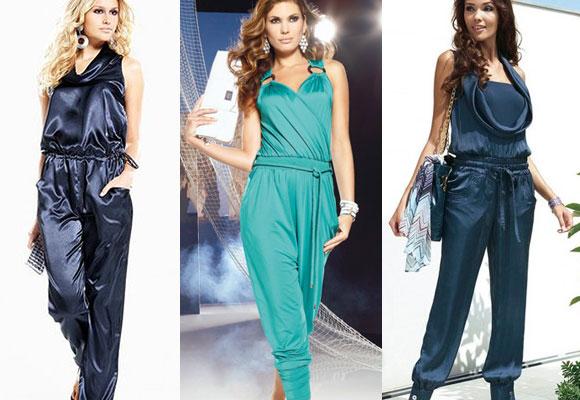 Женские комбинезоны летние платья