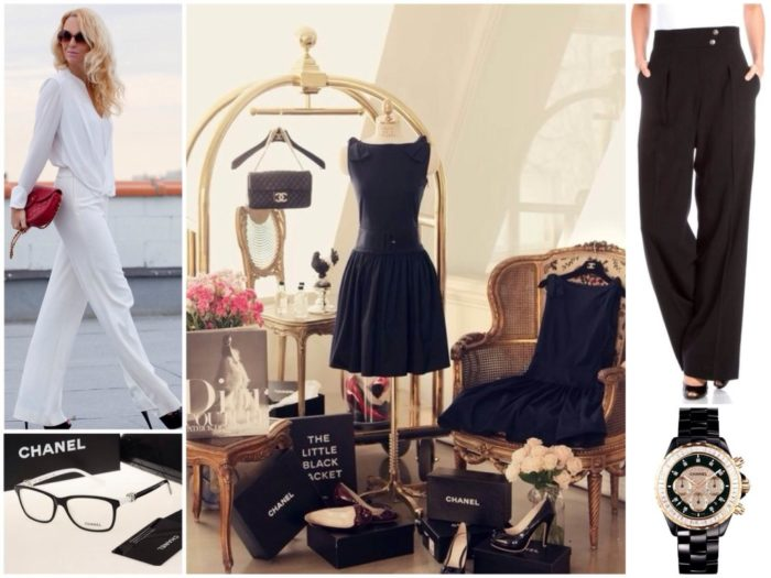 платья и брюки в стиле Коко Шанель, фото