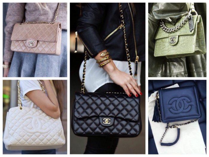 сумки в стиле Коко Шанель, фото